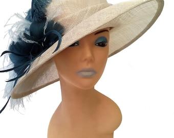 Jessica Blue Designer Hat - UH228