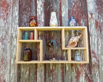 """Cedar Shadow Box or Display Shelf - 23"""" x 12"""" x 3"""""""