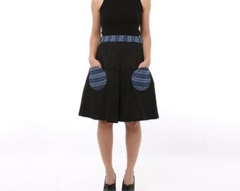 Eiko Short Skirt Black
