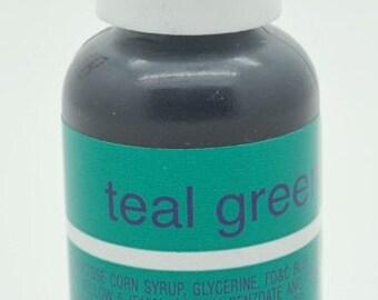 Chef Master Gel Color .75 oz- Teal Green
