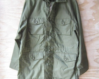 Canvas Field Parka - Olive Long Jacket Military - Streetwear -YSL Inspired