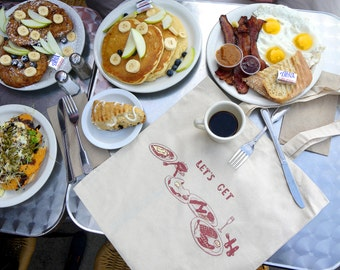 Let's Get Brunch Tote