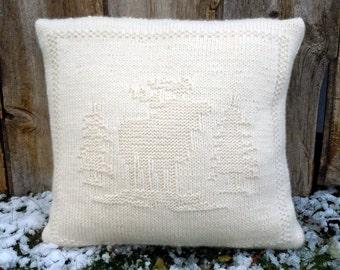 Moose Knitting Pattern : Moose knit pattern Etsy