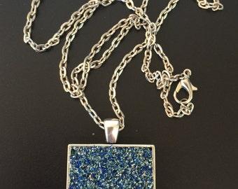 Druzy Necklace // Druzy Pendant // Handmade Druzy Necklace