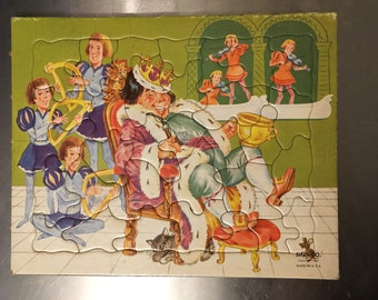 Vintage Jigsaw Puzzle, 1965
