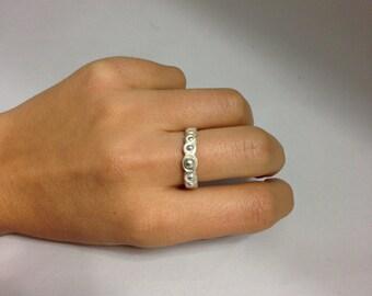 Silver Bubble Ring SALE