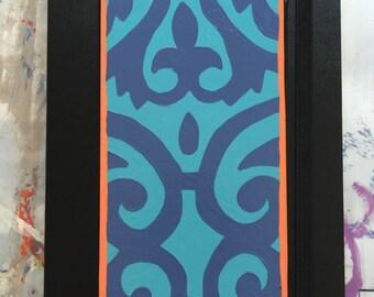 Hippie Lined Moleskine Notebook