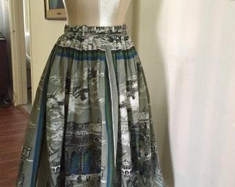 Spectacular 1950's full skirt