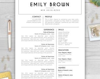 resume template cv template resume by resumetemplatestudio