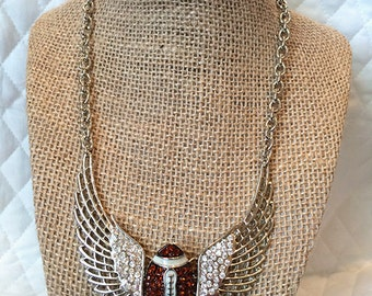 Football with Wings Necklace
