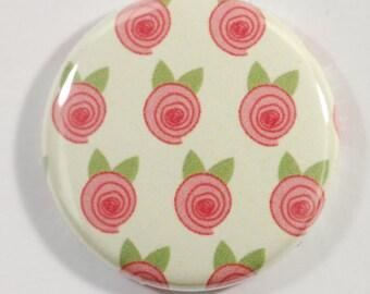 Décorative magnets/ aimants rose et vert