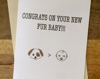 Fur Baby Congrats