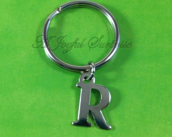 SALE - Personalized Keychain, Custom Key Chain, Custom Keyring, Personalized, Initial Key Chain Letter Keychain your choice of Initial