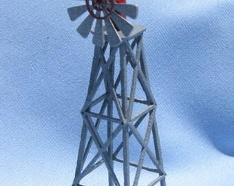 "Dollhouse Miniature Windmill by Teresa Callender 1/4"" Scale. (M)"