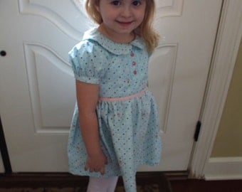 SALE!! Little Girl's Party Easter Dress (3T-4T)
