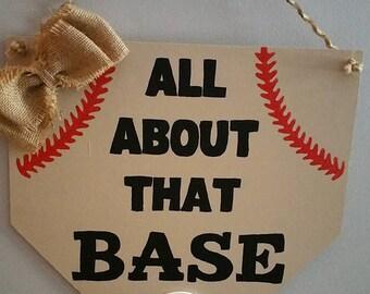 Baseball Door Hanger