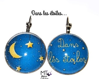 """Earrings mismatched """"in the stars"""""""