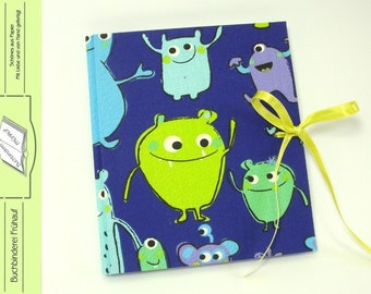 Diary notebook diary Monster