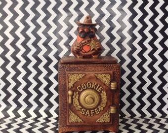 c.1970's~Sheriff Cookie Safe~Cookie Jar~California Originals~2630-1-2