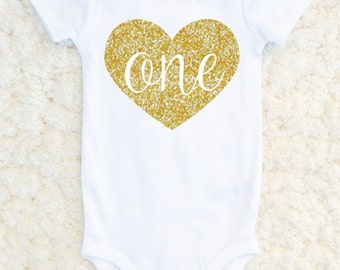First Birthday Bodysuit, First Birthday outfit, Birthday One Piece, Birthday Girl Glitter 1st Birthday Tshirt, Baby Girl Carters Bodysuit