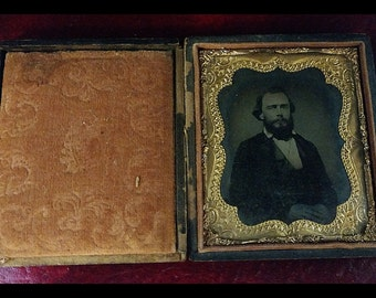 Civil War Tin Type Photo