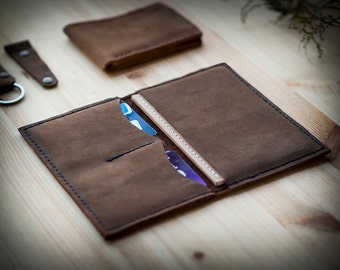 Personalized Leather Notebook, Leather Passport, Field Notes Cover, Field Notes Wallet, Travel Wallet, Passport Cover, Passport case