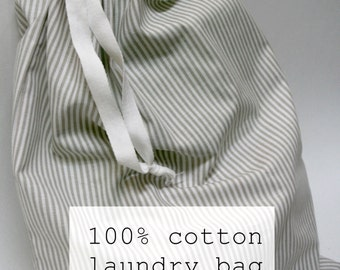 Laundry Bag -  100% cotton