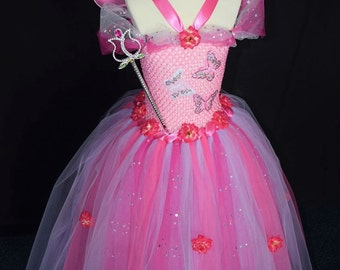 Flower fairy princess dress