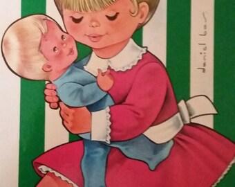 Rare / mum. Kids book Hemma 1972