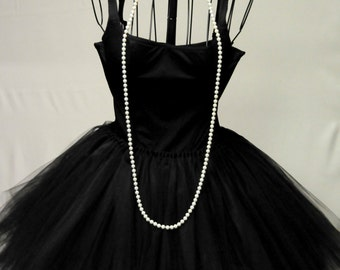4 READY To SHIP !!!   A lil' Black Dress Classic look with pearls...PLus 3 others