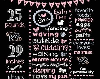 Minnie Mouse Birthday Board!