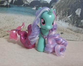 Miria- OOAK MLP Custom Merpony / Seahorse - My Little Pony