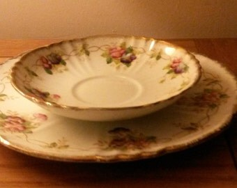 Vintage China plate and side plate (Park Place China)