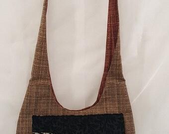 Cross Body Bag -  Upholstery Cross Body Bag