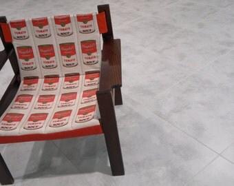 Andy Warhol more chair cushion