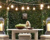 SALE Outdoor Extra Large String Light. Festive Vintage Light. Modern Lighting. Multi Pendant Light Chandelier. String Lights with Sockets