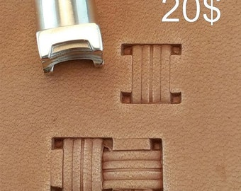 Tools for leather crafts. Stamp #36s