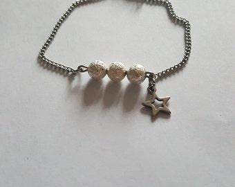 """Ma Petite Etoile"" stainless steel bracelet"