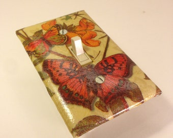 Butterfly Switch Plate Cover - Single - Switchplate