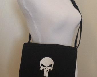 Punisher Canvas Messenger Bag
