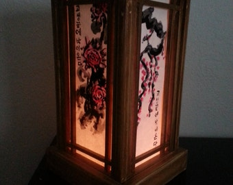 Traditional Korean Hanji (paper) Lamp