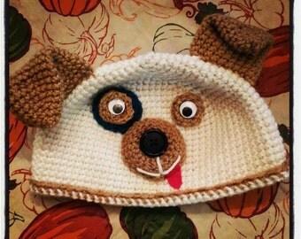 Playful Puppy Winter Hat