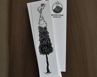 Ram on Fir Tree Bookmark
