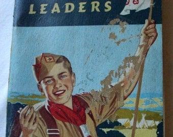 Vintage Boy Scout Handbook for Patrol Leaders