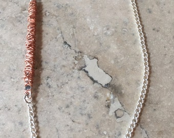 Copper Wrapped Necklace