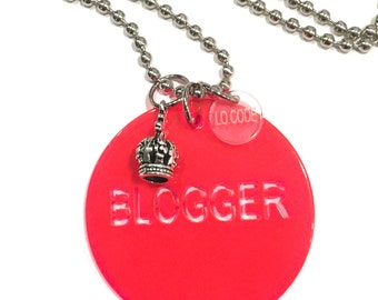 Flúor Blogger necklace