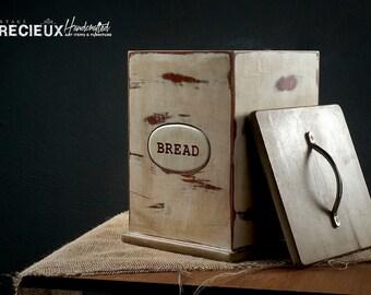 Shabby Chic Bread Box