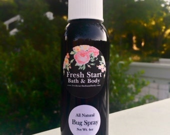 Bug Spray - Bug Repellent - Insect Repellent - All Natural Bug Spray - Citronella Spray - Citronella Bug Spray - Lemon Eucalyptus Bug Spray