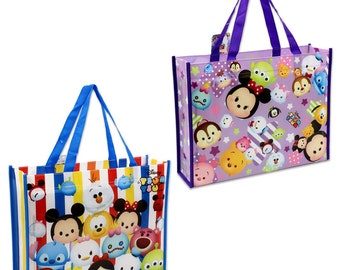 Disney Tsum Tsum Tote Bag  - For Gifts - Lunch - Non-Woven Fabric
