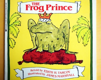 The Frog Prince/Scholastic Paperback Children's Book/Edith Tarcov and James Marshall/An Easy-to-read Folktale/story of a prince and princess
